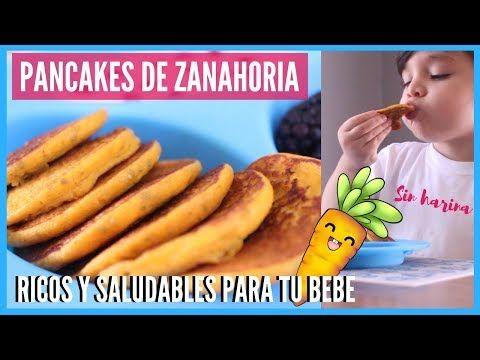 Ricos Y Saludable Pancakes De Zanahoria Y Chia Desayuno Para Tu Bebe Reishel La Super Mamá Youtube Baby Food Recipes Proper Eating Food