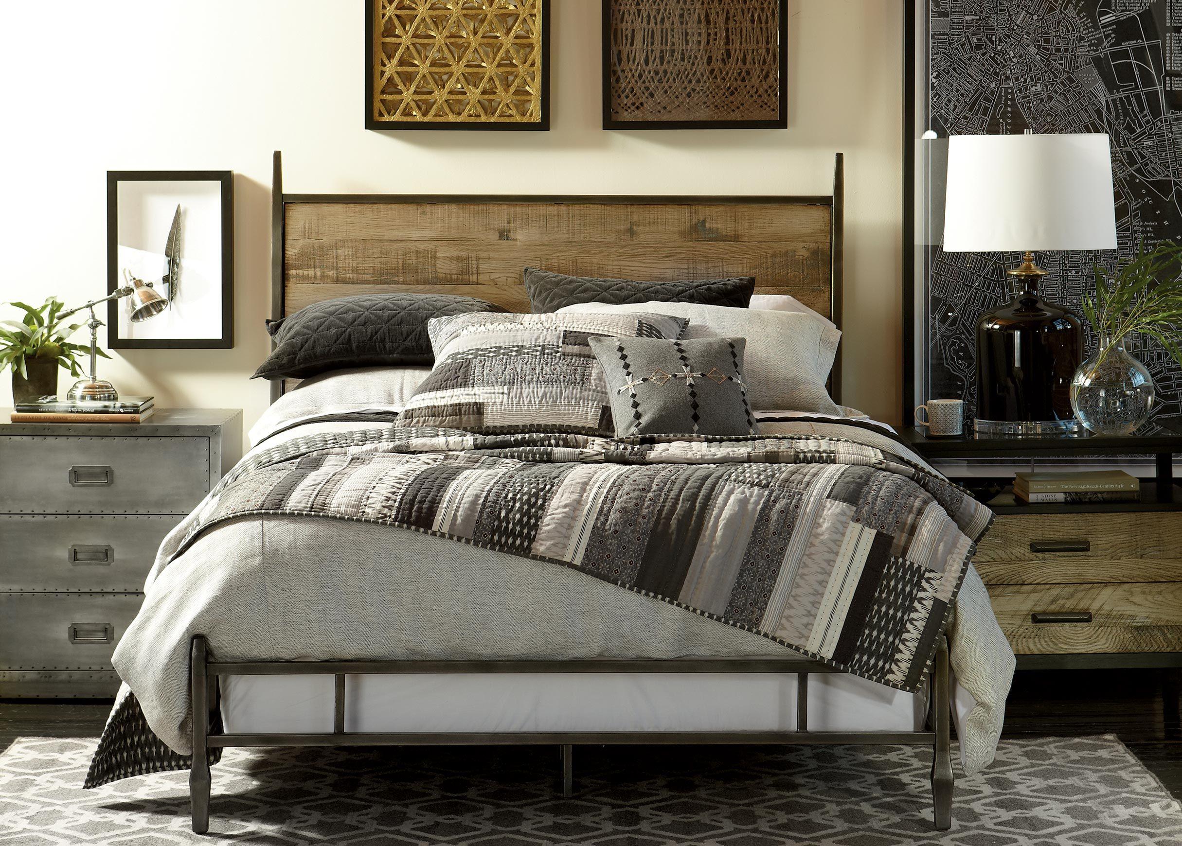 Kennan Quilt Ethan Allen US Furniture, Queen size bed