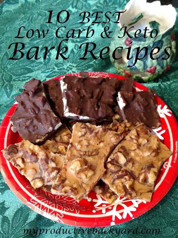 10 Best Low Carb Keto Bark Recipes Easy Recipes For Quick And