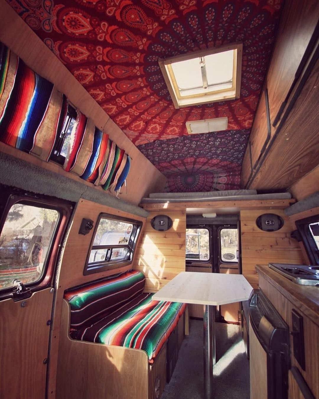 50 Crazy Van Decoration Ideas Living On The Road Ideas Pinterest