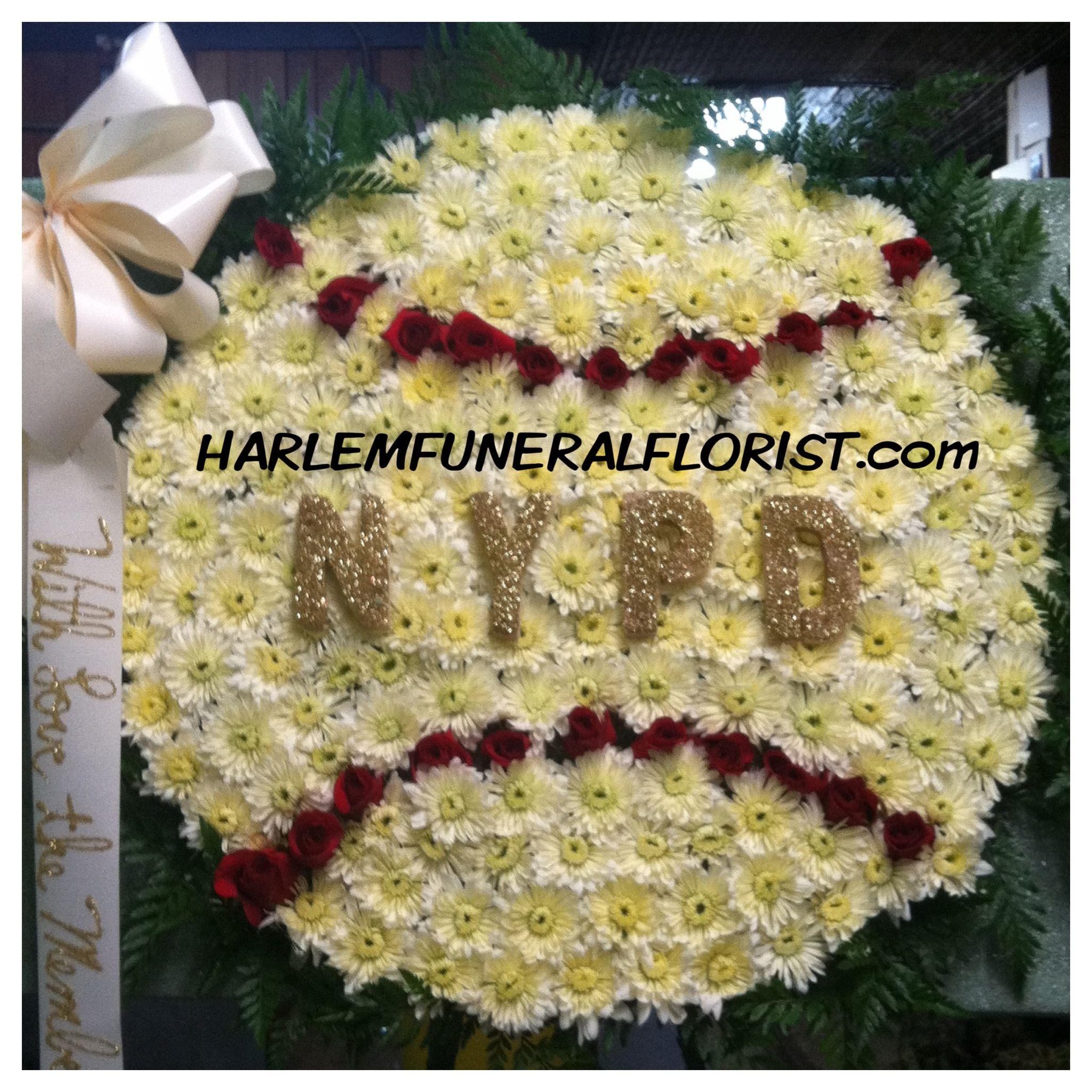 New york city police department custom funeral flower designs new york city police department izmirmasajfo