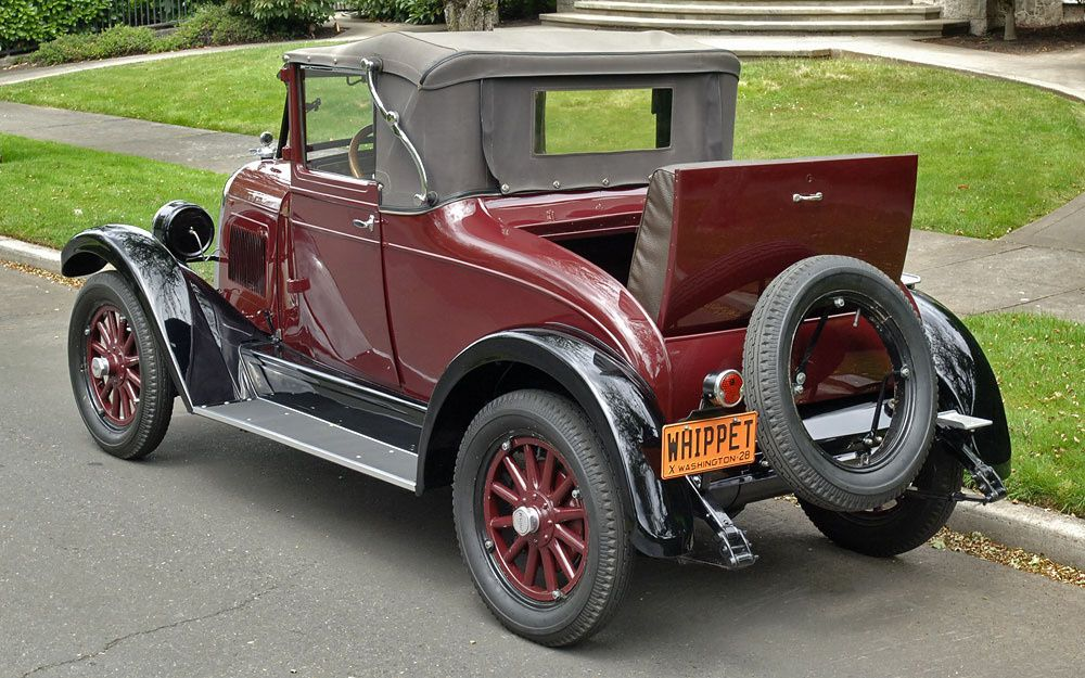 1928 Willys Overland Whippet By Cascadiaclassic