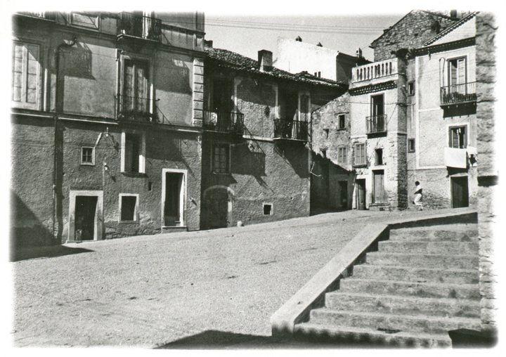 Largo di Portamendola a Potenza oggi non più esistente