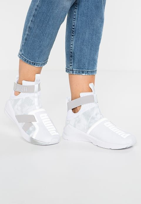 FIERCE STRAP SWAN - Sneakers hoog - white @ Zalando.nl  <div class=