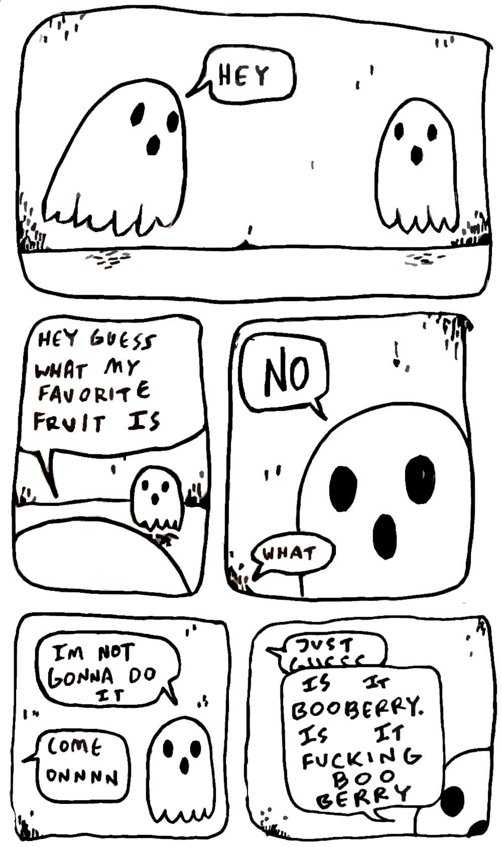 ghosts, jokes, humor, illustrations, Halloween, fall