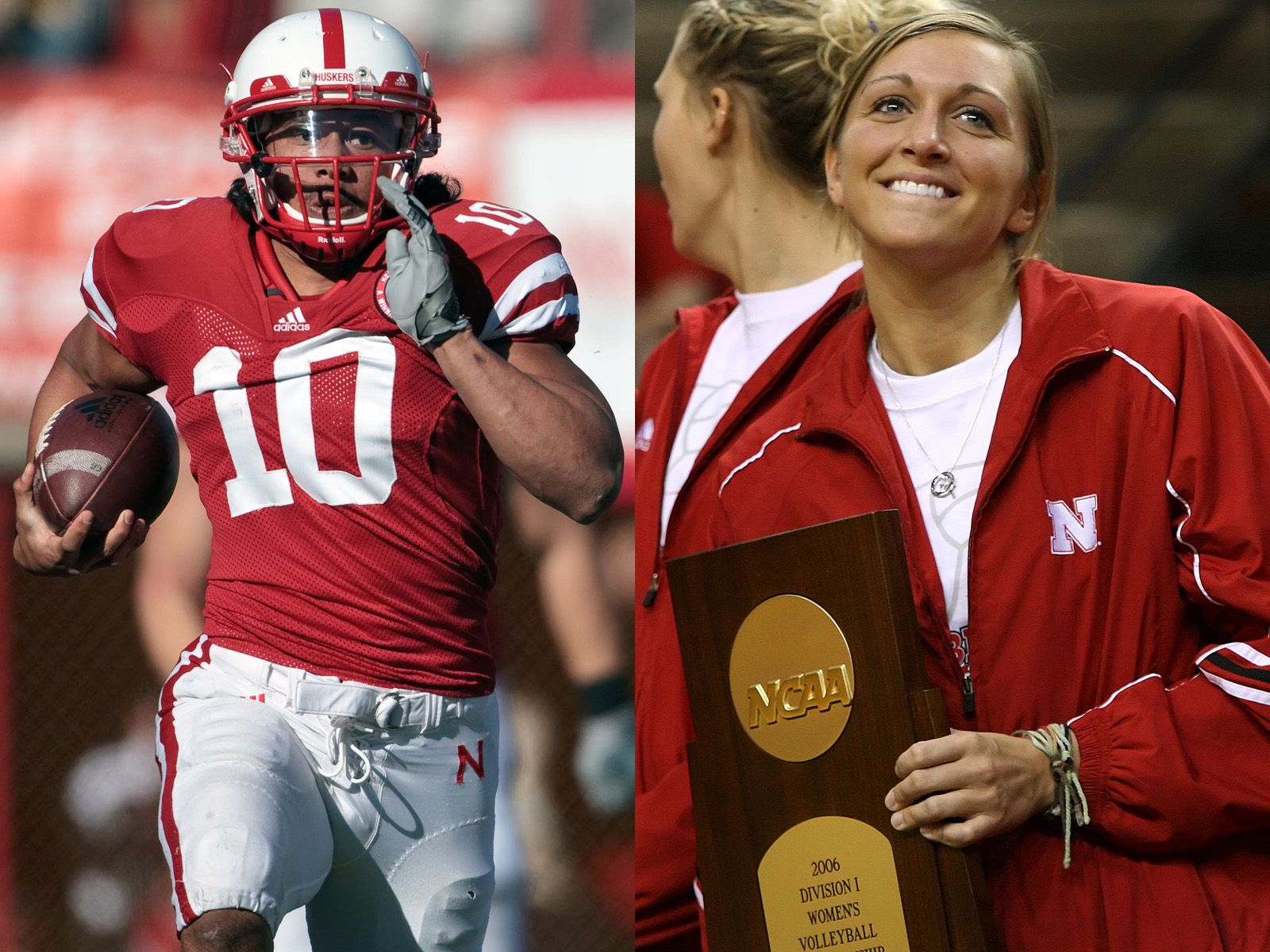 Ex Huskers Found Love After Leap Of Faith Nebraska Huskers Football Husker Football Nebraska Cornhuskers