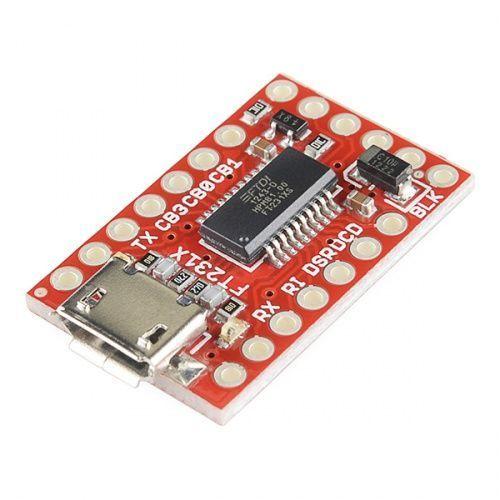 SparkFun FT231X Breakout | Arduino. Microcontroller board. Arduino projects