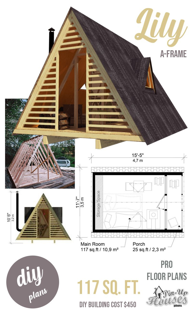 A Frame Shed Plans In 2020 A Frame House Plans Shed Plans A Frame Cabin Plans