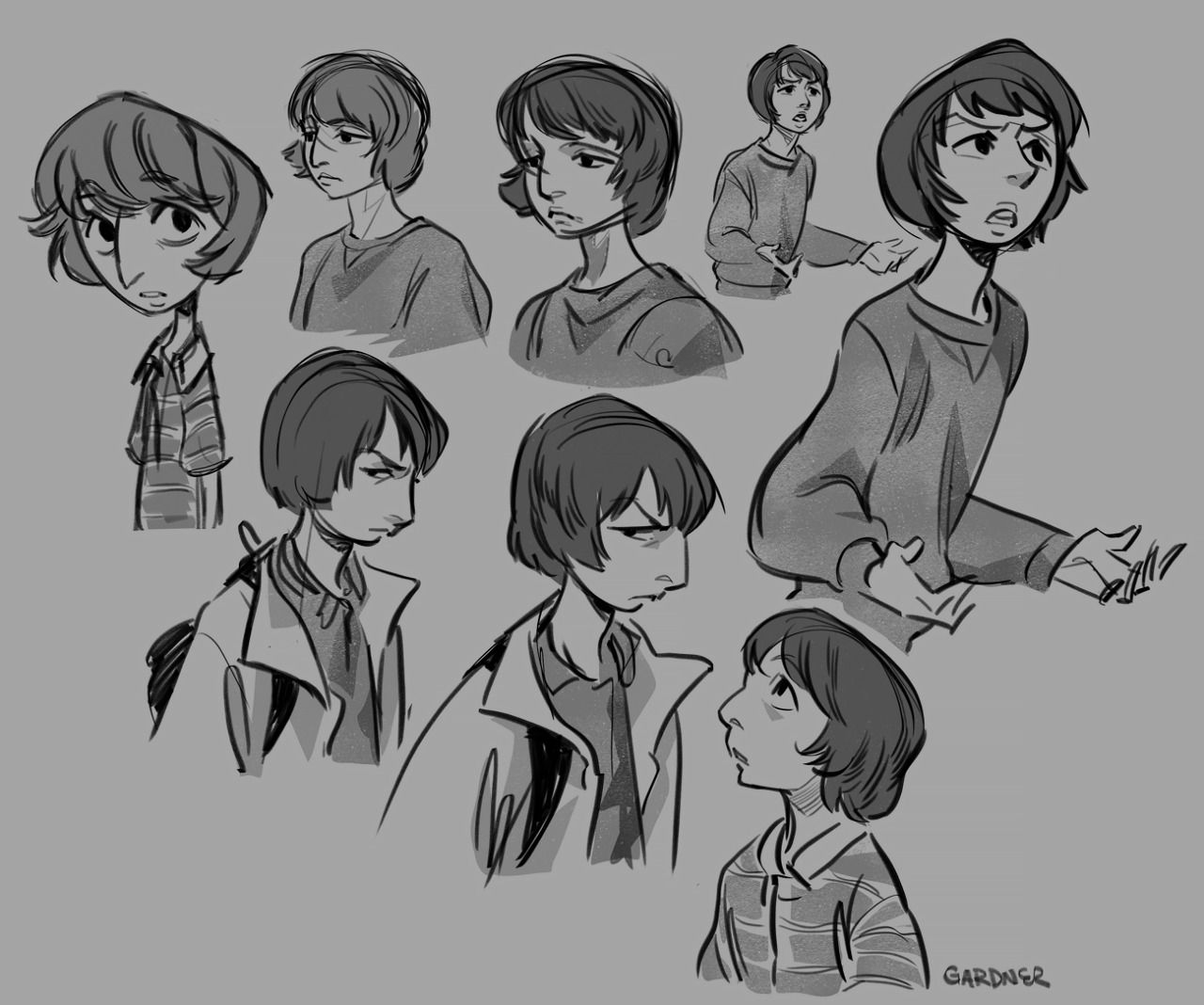 Stranger Things Studies Pt. 01 - Mike Wheeler
