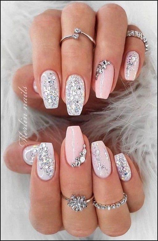 Acrylic Nail Designs for Weddings  | Cynthia Nail Designs