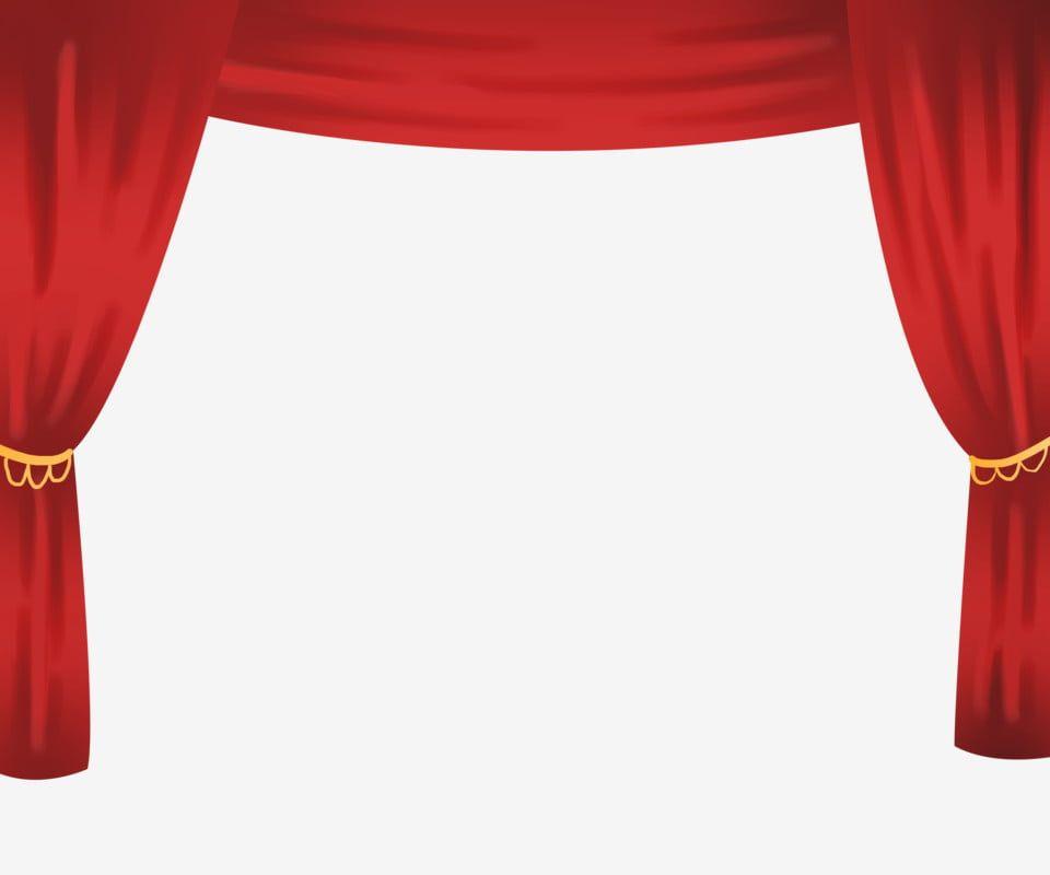 Gambar Tirai Merah Tirai Merah Tirai Merah Peringkat Tirai Yang Dicat Tangan Ilustrasi Tirai Tangan Ditarik Png Dan Psd Untuk Muat Turun Percuma Red Curtains Curtain Stage Curtains