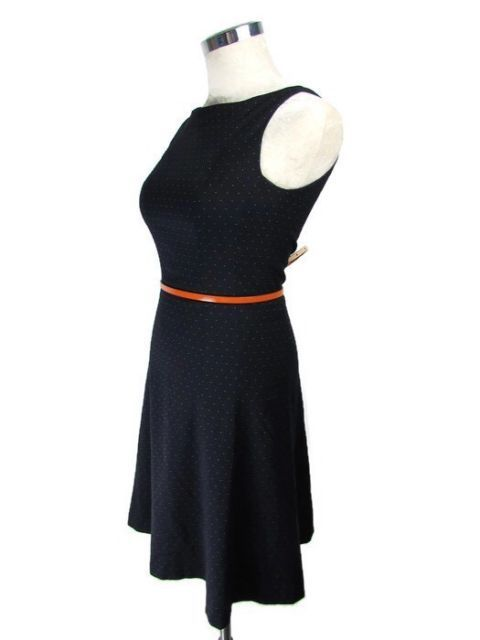 A line Dress Size 4 Navy Blue H&M FREE U.S. SHIPPING | Navy blue ...