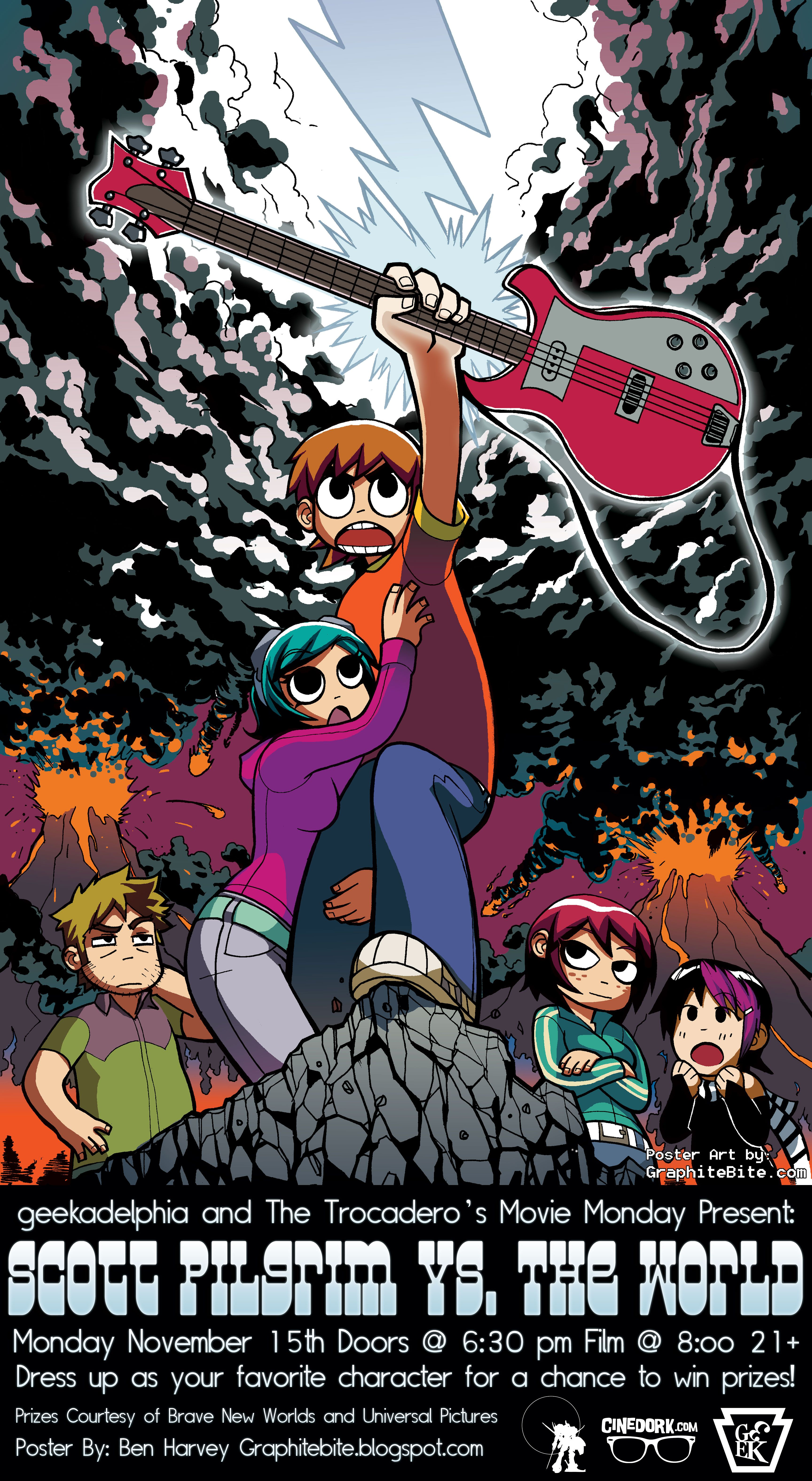 scott pilgrim poster | Awesome Fictional People ...