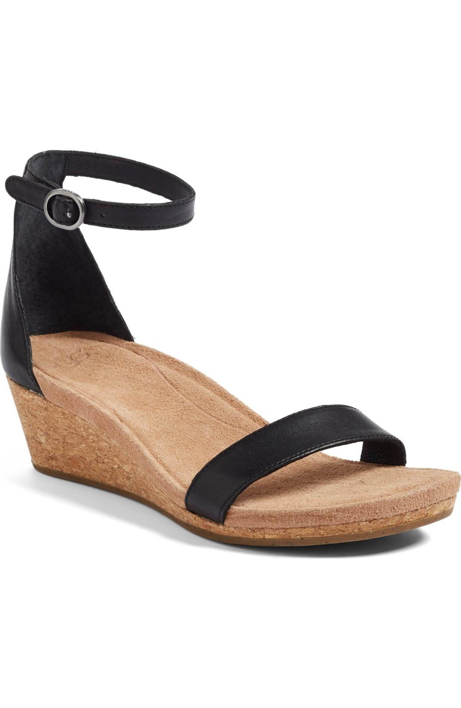 91311f76ed53 Main Image - UGG® Emilia Wedge Sandal (Women)