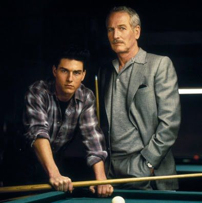 The Color Of Money 1986 Paul Newman And Tom Cruise Night At The