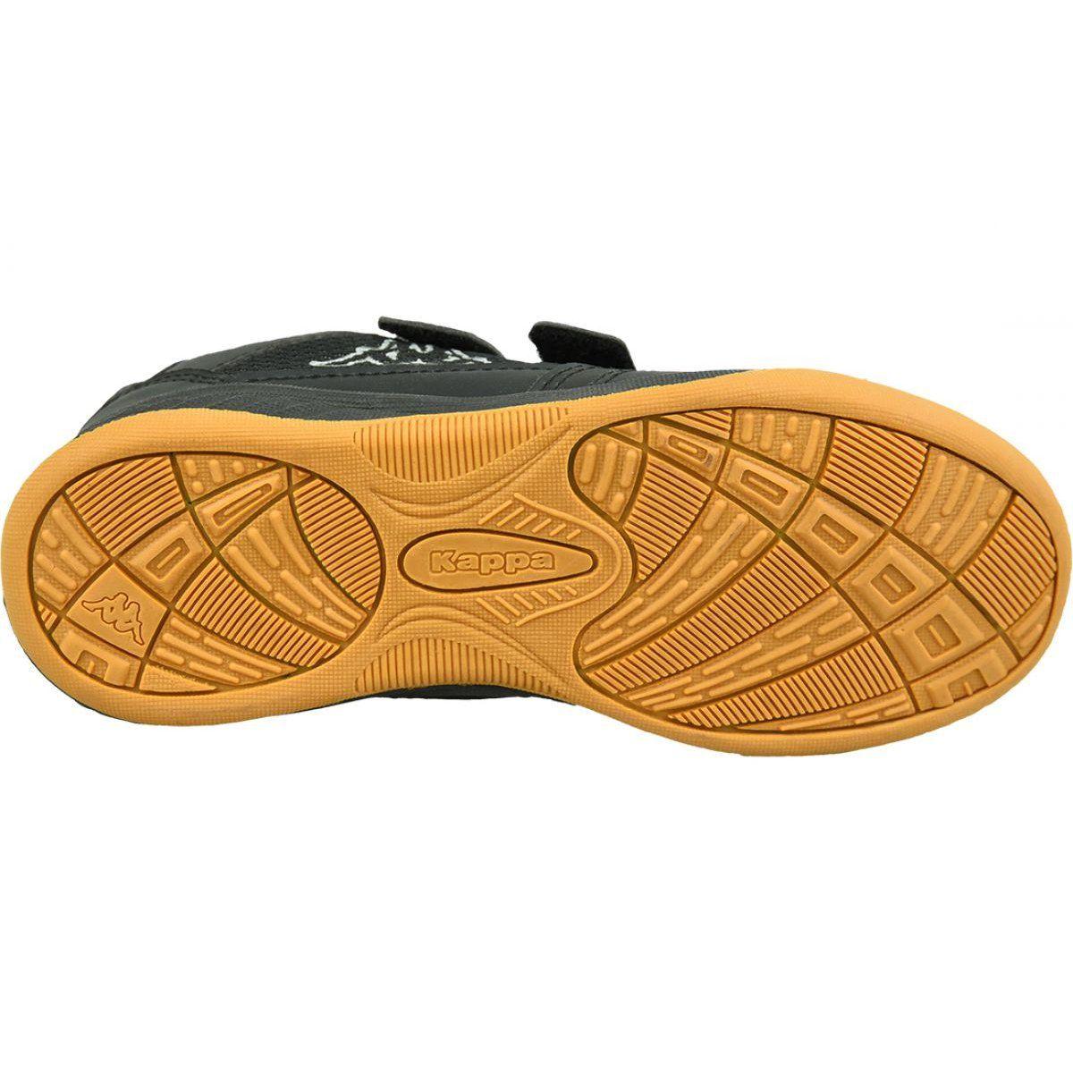 Kappa Kickoff K Jr 260509k 1116 Shoes Black Black Sports Shoes Kid Shoes Black Shoes
