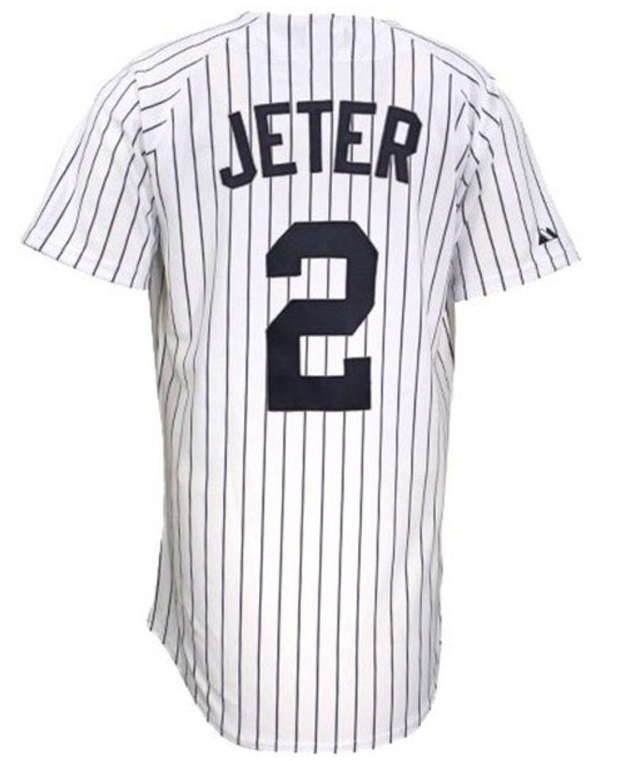 08204aba5 Majestic Kids' New York Yankees Player Replica Derek Jeter Jersey ...