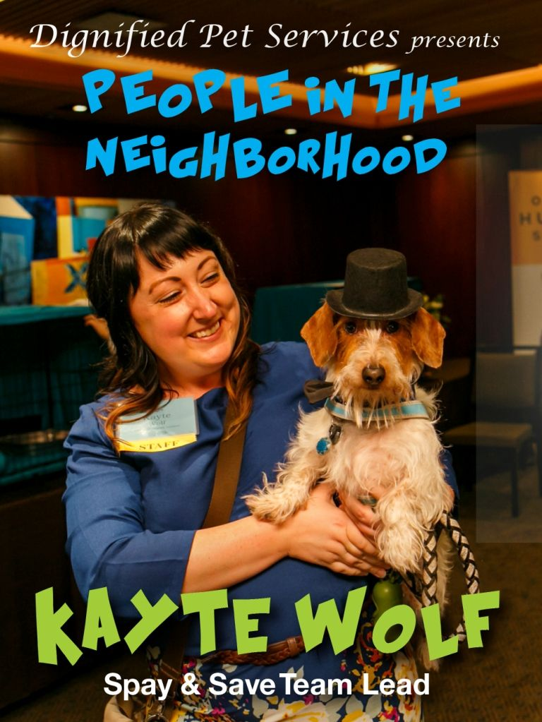 Meet Kayte Wolf — Spot Magazine Service animal, The