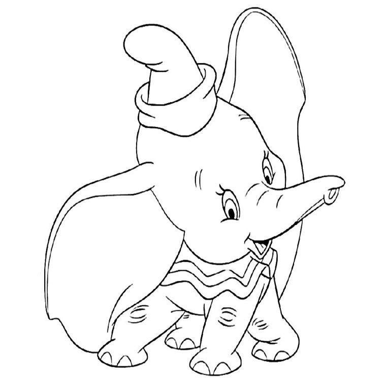 Disney Dumbo Coloring Pages Bing Images Cartoon Coloring Pages Disney Coloring Pages Coloring Pages