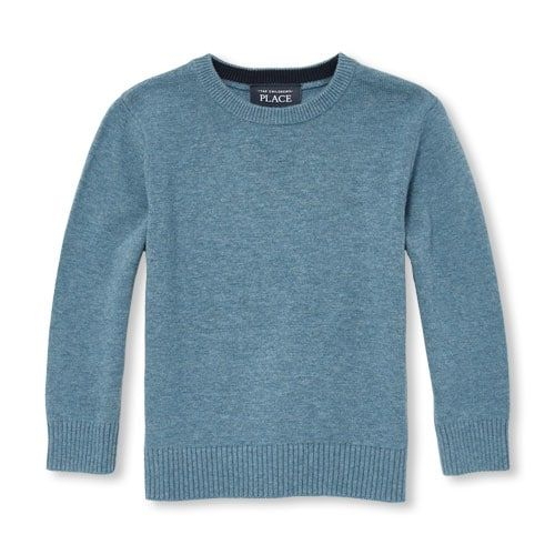 1ff9dde92 Baby And Toddler Boys Long Sleeve Solid Crew Sweater | Products in ...