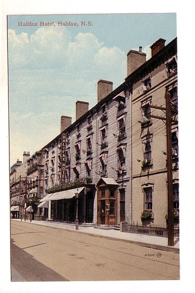 Halifax Hotel, Halifax, Nova Scotia,