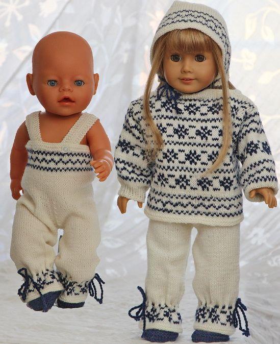 Strickanleitung fur puppenpuppenkleidung - Pullover in einem anderen ...