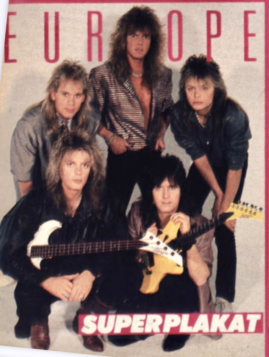 A Europe Band Joey Tempest Europe