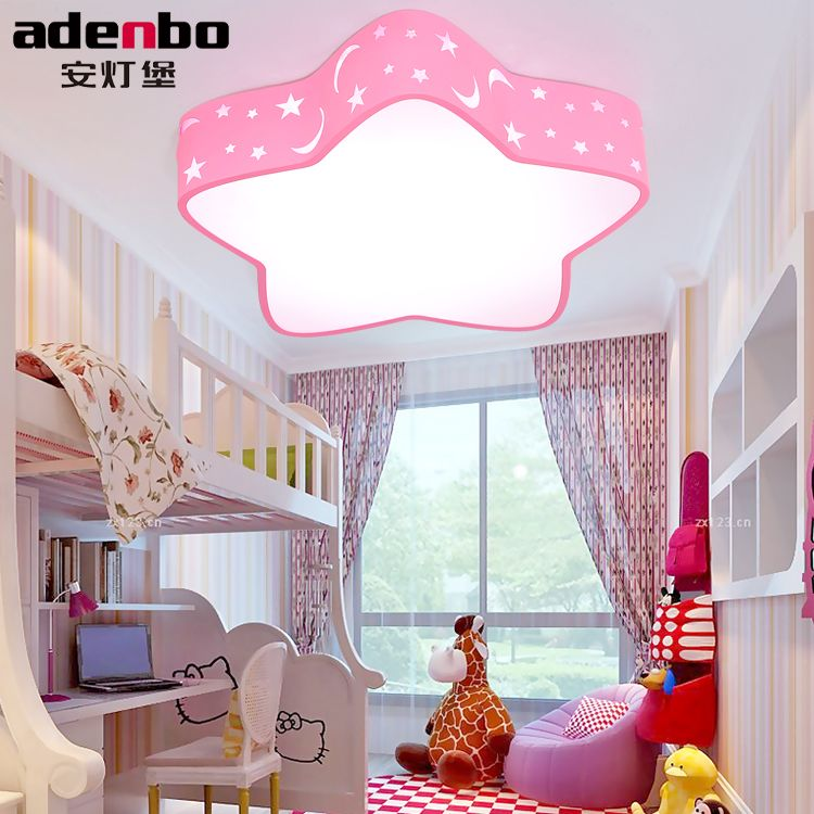 Acrylic Star LED Ceiling Light 36W Baby Kids Bedroom ...