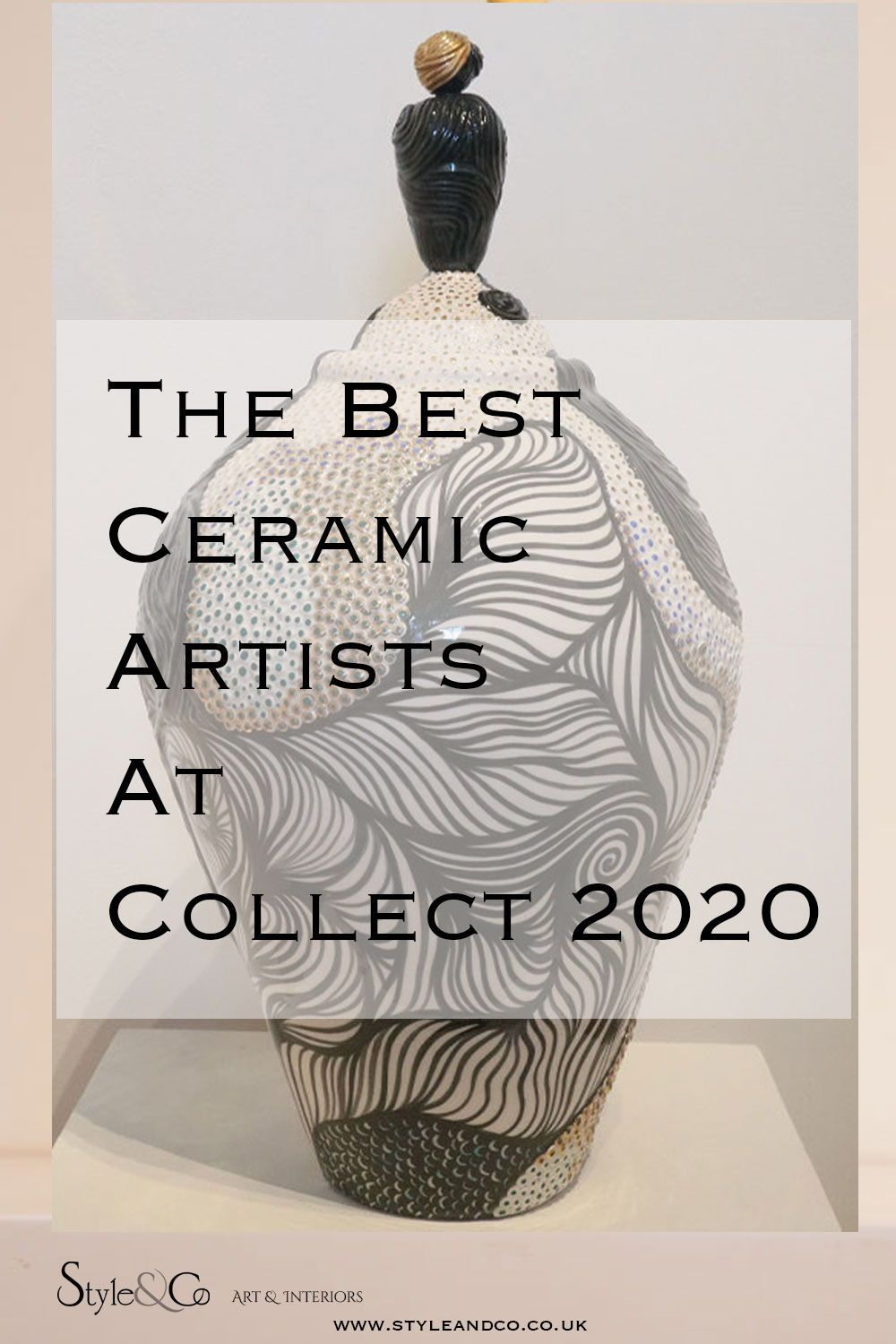 See the best Ceramics at Collect in our review of the show at Sommerset House  -  www.styleandco.co.uk/collect-2020 #ceramics #clay #porcelain #craftscouncil #collect2020 #pottery #craft #styleandco