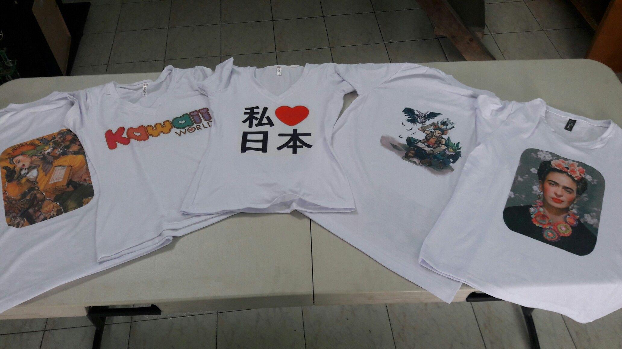 Camisetas personalizadas en Shinsei Store