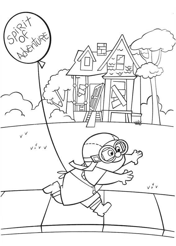 From The Movie Up Disney Princess Coloring Pages Princess Coloring Pages Cool Coloring Pages
