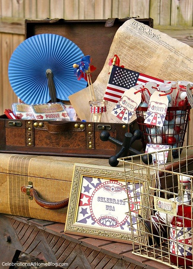 4th Of July Party Ideas With Vintage Style Best Party Ideas 4th