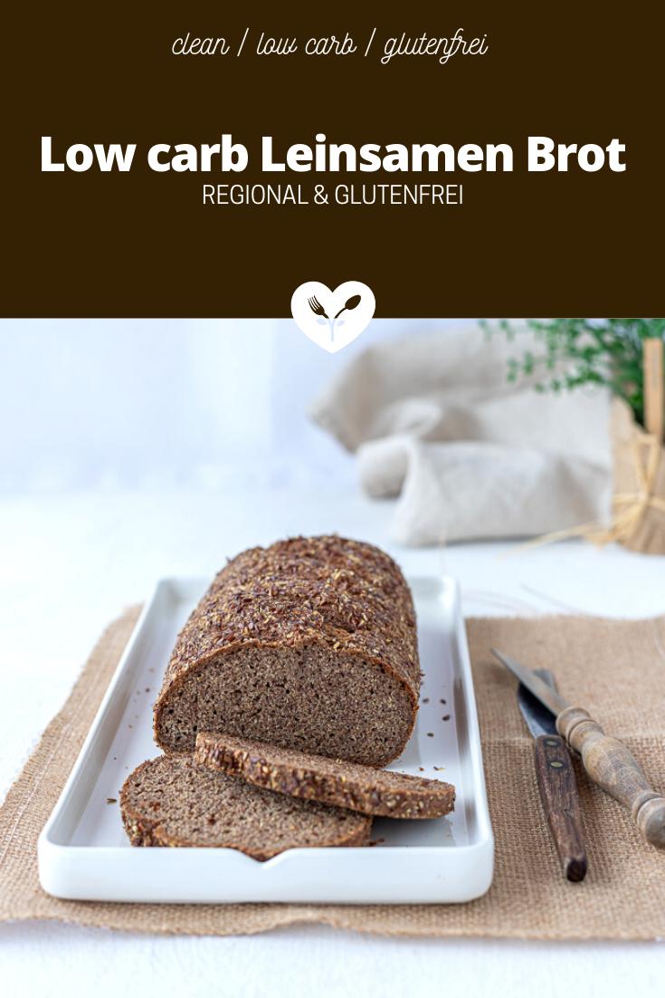 Low carb Leinsamen Brot | regional & glutenfrei | Koch mit Herz