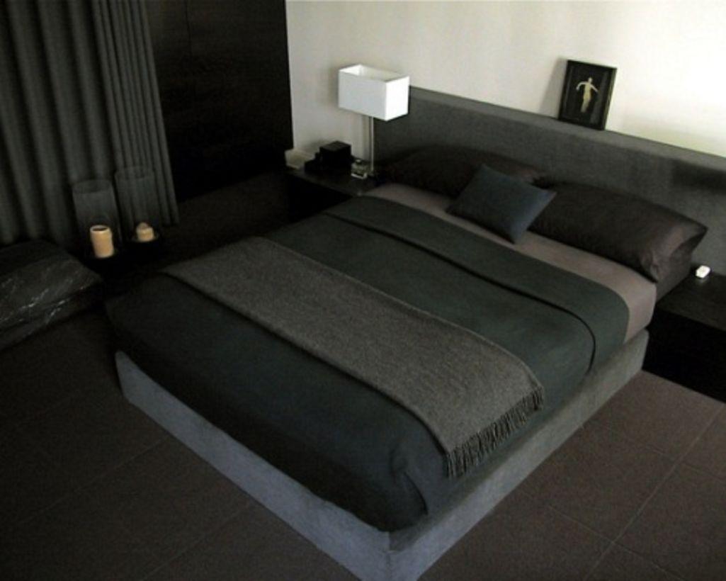 Modern contemporary master bedroom decor   Modern Contemporary Masculine Bedrooms Ideas  Modern