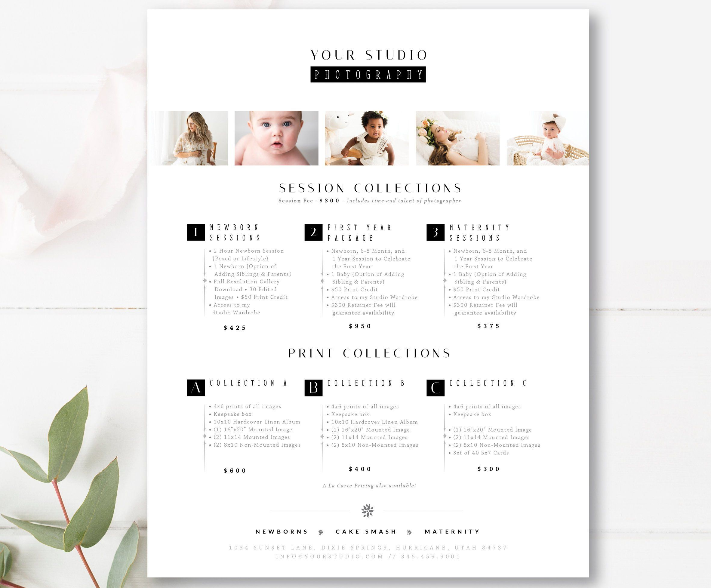 Classic Photography Pricing Template Photographer Pricing Etsy Photography Pricing Template Photography Pricing Photographer Pricing Guide
