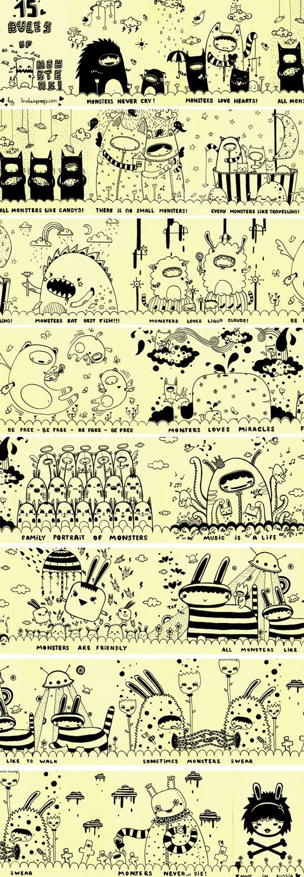 How to Draw Resources for Art Students, CAPI ::: Create Art Portfolio Ideas at milliande.com , Art School Portfolio Work, Sketching, Art Journal, Journaling, illustration,cute, kawaii, creatures,
