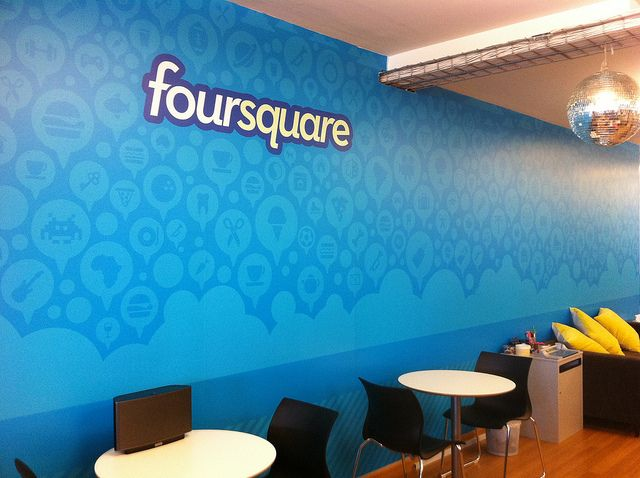 Our Office Is All Grown Up With This New Wall Mural! By Foursquare HQ,