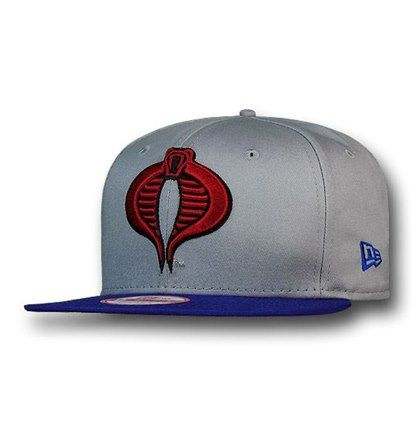 Cobra Symbol Grey 9fifty Snapback Cap Snapback Snapback Cap Grey Bodies