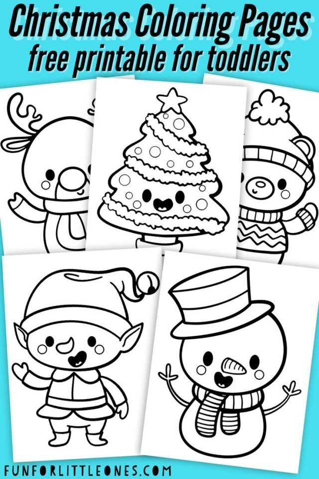 Christmas Coloring Pages For Toddlers Printable Free Chambre Bebes Enfants Printable Christmas Coloring Pages Kids Christmas Coloring Pages Christmas Coloring Sheets Free preschool christmas coloring pages