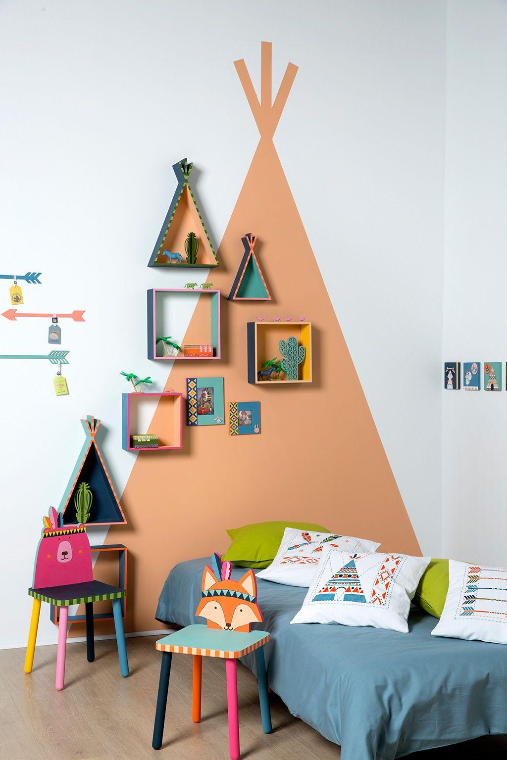 tuto d coration d 39 une chambre d 39 enfant sur le th me des. Black Bedroom Furniture Sets. Home Design Ideas