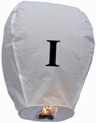 Lanterna Volante con lettera I