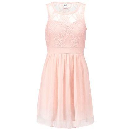 Schickes Kleid in Rosa von Vero Moda. Mit Spitze und einem ...