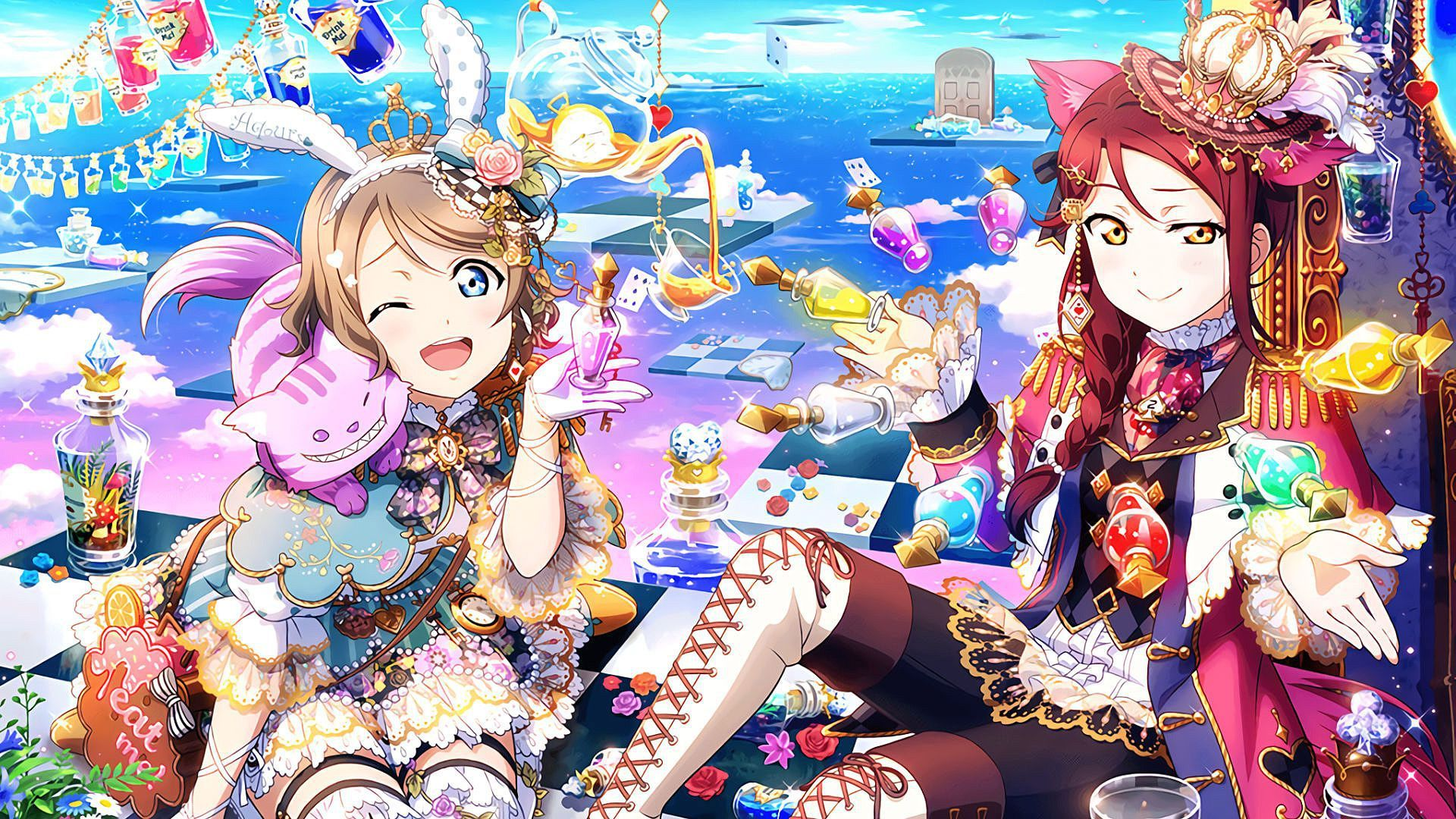 Eli Ayase Cute Wallpaper Quot Sakurauchi Riko Quot Quot Watanabe You Quot Love Live Sunshine