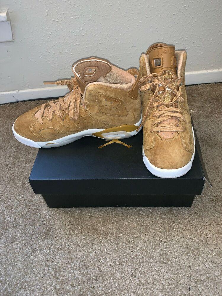 0d93072e4c42 Air Jordans 6 Wheat Size 5.5  fashion  clothing  shoes  accessories   mensshoes  athleticshoes (ebay link)