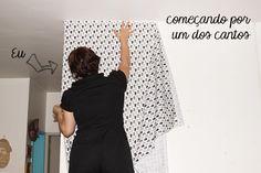 Como colocar tecido na parede: tudo que você precisa saber # tutorial para colar tecido na parede (com cola especial) - dcoracao.com - blog de decoração