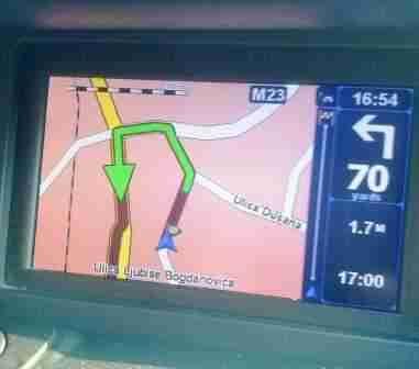 mapa srbije za tomtom Najnovija detaljna i do kućnog broja rutabilna navigaciona GPS  mapa srbije za tomtom