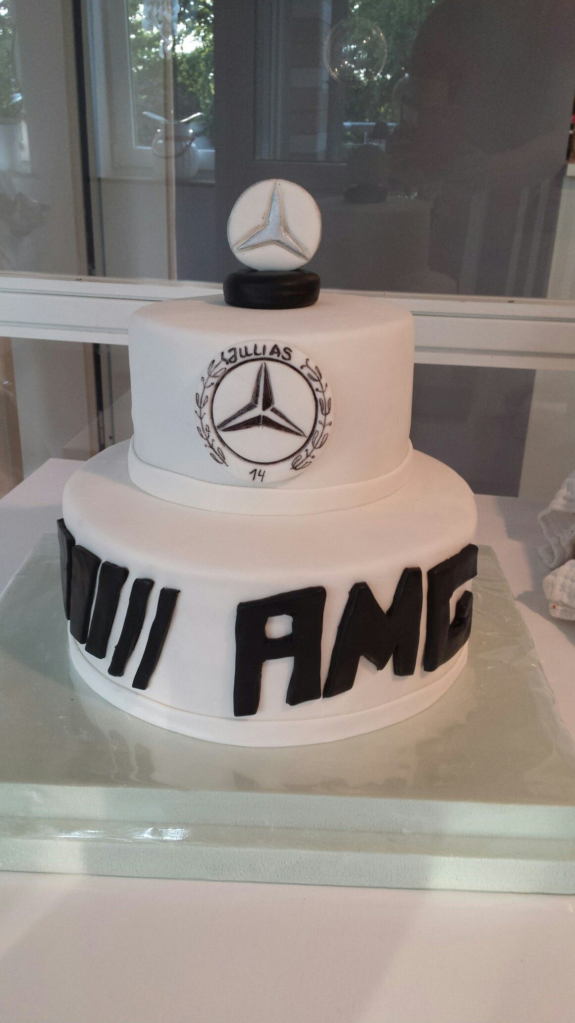 Mercedes Benz torte  motivtortenfee  Mercedes Benz torte