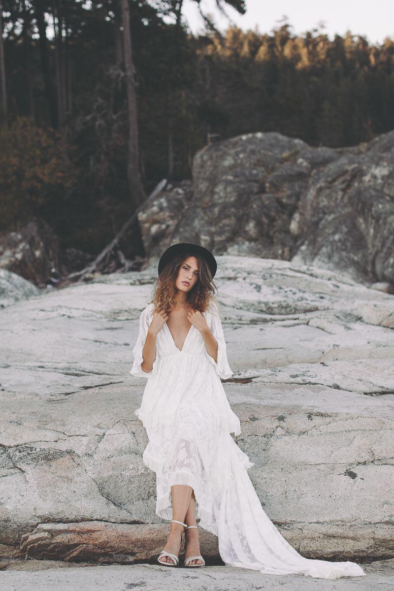 Light Lace Bridal Fashion Campaign Shoot Wild Free