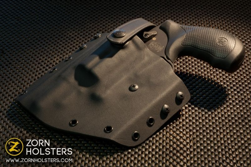 Smith and Wesson Governor in a Trojan concealment holster with a