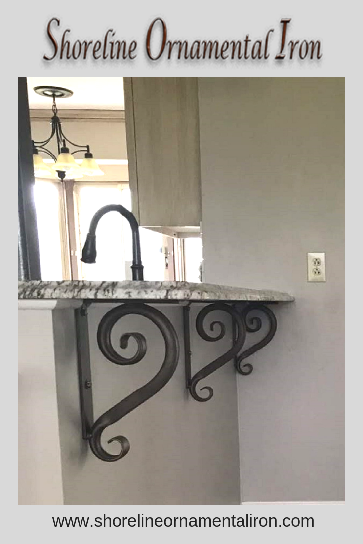Standard 1 Wrought Iron Angle Brackets In 2019 Wrought